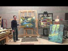 Rick Stevens takes you inside his studio in Santa Fe, NM. See his work at Kay Contemporary Art - YouTube Rick Stevens, Aquaponics, Fes, Santa Fe, Painting Techniques, Art Lessons, Contemporary Art, Art Supplies, Youtube