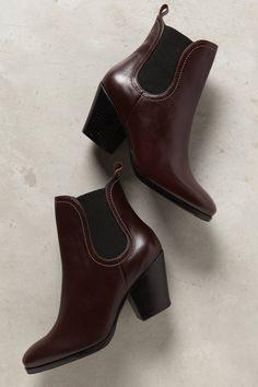Rachel Comey Nassau Chelsea Boots in Plum (Anthropologie)
