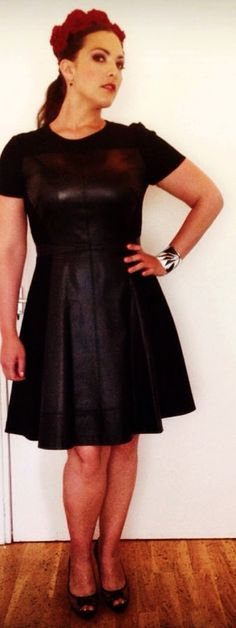 My outfit for Hop Farm Festival (UK, July 5, 2014). Dress: Ted Baker, shoes by Jimmy Choo. (Photo by Anoek van Nunen)