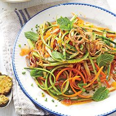 Zucchini-Carrot Salad with Catalina Dressing - 49 Summer Farmers' Market Recipes - Southern Living