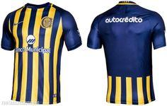 0160ed6de1e Rosario Central 2017 Nike Home and Away Kits