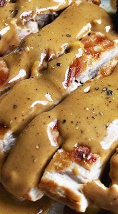Pork Tenderloin with Peanut Cilantro Sauce Pork with Indonesian Style Peanut Sauce Pork Tenderloin Recipes, Pork Recipes, Asian Recipes, Cooking Recipes, Cooking Tips, Indonesian Food, Indonesian Recipes, Sauces, Gourmet