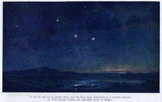 Lucien Rudaux– Google Поиск Night Skies, Sky, Mars, Painting, Google, Astronomy, Heaven, March, Heavens