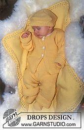 Baby - Free knitting patterns and crochet patterns by DROPS Design Baby Knitting Patterns, Knitting For Kids, Baby Patterns, Free Knitting, Crochet Patterns, Drops Design, Drops Baby, Magazine Drops, Baby Layette