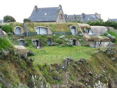 """Earth Sheltered Homes! """"Another type of building is emerging: one that actually heals the scars of its own construction. It conserves rainwater and fuel and it provides a habitat for creatures other than the human one. Maybe it will catch on, maybe it won't. We'll see."""" - Malcolm Wells, 2002."""