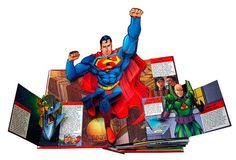 DC heroes ultimate pop-up book