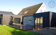 To små tilbygninger med stor virkning, Facade House Extensions, Home Additions, Facade, Villa, Bungalows, Architecture, Outdoor Decor, Design, Home Decor