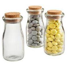 """Kate Aspen """"Vintage"""" Milk Favor Jar - Set of 12 : Target"""