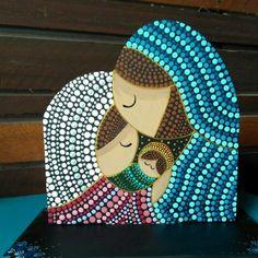 Dot Art Painting, Mandala Design, Mosaics, Special Events, Diy And Crafts, Christmas Crafts, Bottles, Dots, Ornaments