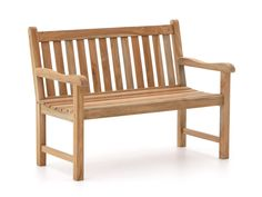 <h4> Sunyard Wales Tuinbank 120cm </h4> De Sunyard Wales tuinbank 120cm is een teak houten tuinbank uit de ruime collectie van Kees Smit Tuinmeubelen. <br><br><h4>Eigenschappen </h4>De Sunyard Wales tuinbank is gemaakt van teak hout met de kleur Natural T