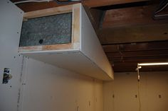 Picture of Ductwork - Install a New Cold Air Return Basement Built Ins, Basement Movie Room, Small Basement Bathroom, Old Basement, Basement Remodel Diy, Basement Windows, Bathroom Plans, Basement Renovations, Basement Ideas