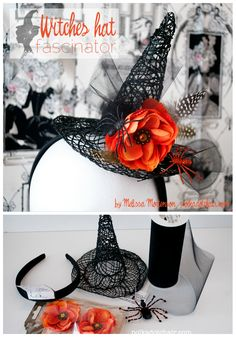 How to make a Witches hat fascinator