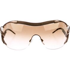 da5325388b5 Pre-owned Roberto Cavalli Botein Shield Sunglasses ( 125) ❤ liked on  Polyvore featuring accessories