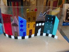 About the Town Cityscape Glass