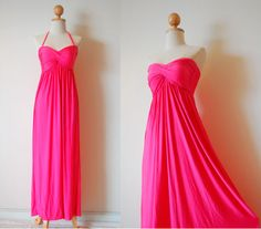 Gorgeous Pink Evening Dress by pinksandcloset on Etsy, $55.00