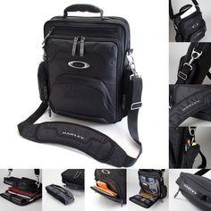 """Brand New Oakley Vertical 15"""" Laptop / MacBook Pro Black Messenger Bag #Oakley #MessengerShoulderBag"""