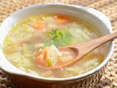 Cabbage Soup Diet Plan And Recipe Detox Soup Cabbage, Cabbage Soup Recipes, Easy Healthy Recipes, Easy Meals, Healthy Soup, Eating Healthy, Soup Diet Plan, Clean Eating Soup, Lean Cuisine