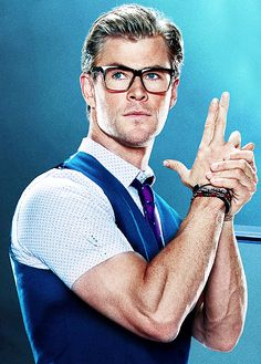 hemsworth lol he's so cute!                                                                                                                                                      More