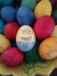 Minions auf dem Ei!!!