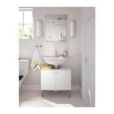 IKEA FULLEN wash-basin base cabinet w 2 doors / Wash-basin base cabinet w 2 doors FULLEN White €18 / 60x55 cm / Article no: 701.890.22