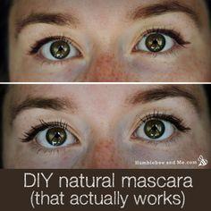 DIY Natural Clay Mascara