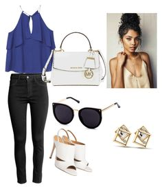 """""""chic"""" by tesaantobing on Polyvore featuring MANGO and Michael Kors"""