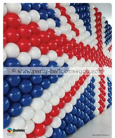 union jack balloon decoration Nothing to do with the dance. London Theme Parties, British Themed Parties, Uk Parties, British Party, London Party, Birthday Parties, Union Jack Decor, Queen 90th Birthday, 9th Birthday