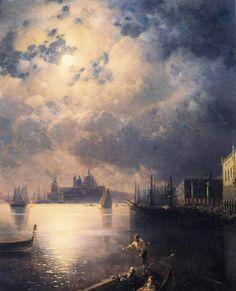 'Byron in Venice' Aivazovsky