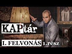 Kovács András Péter: KAPtár I. felvonás 1. rész - YouTube Stand Up Comedy, Humor, Signs, Youtube, Movie Posters, Movies, Films, Humour, Shop Signs