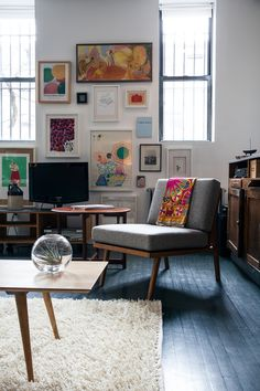 Jesse & Loren's Brooklyn Loft -- Photo by Brian W. Ferry