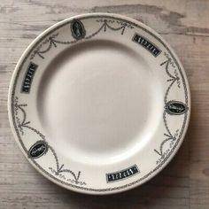 Salad Plate Restaurantware Francis Scott Key Hotel Barbara Fritchie Hotelware  | eBay