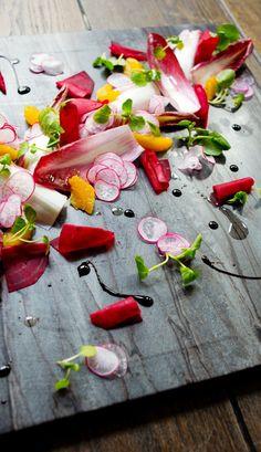 Endive, Orange and Watercress Salad