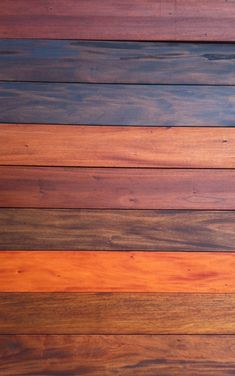 9 different stains on Genuine Mahogany.  To Learn more or order our mahogany products call 905-655-3939 or sales@greenworldlumber.com