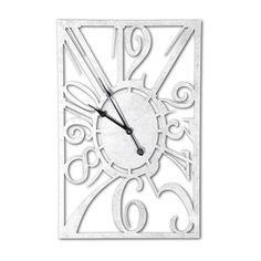 Gothic Clock Hands | Large Silver Muller Style Gothic Clock
