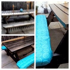 Making Simple Picnic Table Bench Covers Picnic Table