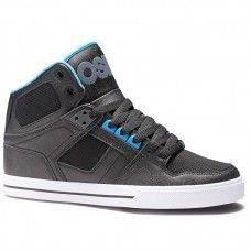 Osiris Shoes NYC 83 VULC Black Cyan