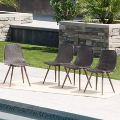 28 Best Patio images | Patio dining chairs, Patio, Planters