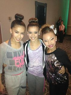 Simrin, Kalani and Sophia.