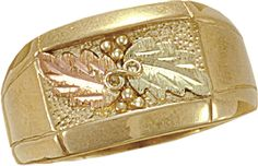 Black Hills Gold Mens Ring