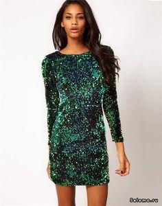 Платье в паетках купить