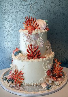 Amazing under the sea cake