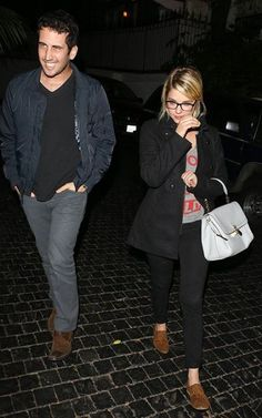 Ashley Benson: hit up the Chateau Marmont in West Hollywood