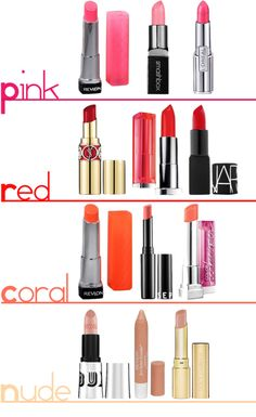 Spring 2013 Lip Colors - L'Oreal Infallible LeRouge in Rose is the one I'm eyeing for Spring