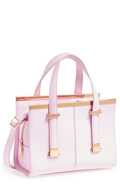 Dusky pink 'mini tote' by Ted Baker London @Nordstrom