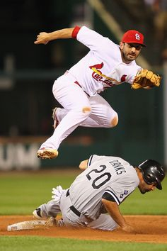 Daniel Descalso  awesome pic and play  6-13-12