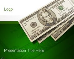 Free banking powerpoint template is a free money template for free cash money powerpoint template with original design containing a 20 dollar bill and green background toneelgroepblik Gallery