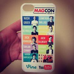 Magcon Phone case