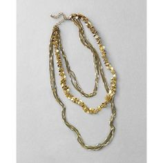 Gold Paillette Necklace