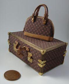 Miniaturas bolsos: Bolsos homenaje combinados (4)