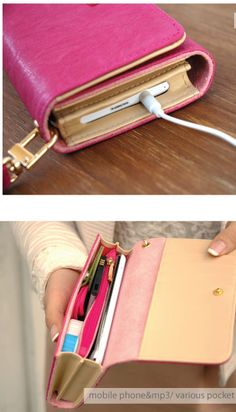 WM Smartphone Wallet. so cute, it holds everything. must have one.  (I want one! I like to travel lite!!)